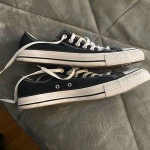 Converse Shoes - Black Converse Men size 10
